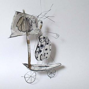 Wünsche-Kehle – Objekte aus Papier