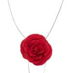 gefilzte Rosenkette