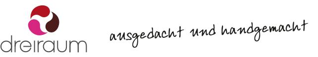 Dreiraum Logo mit Claim