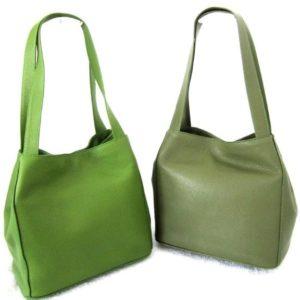 Tasche, Leder, Bellissima,